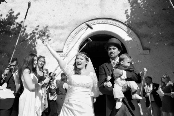 Mariage de Gabrielle et Jérôme à la Ferté-Saint-Cyr, entre Chambord et Orléans